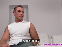 FemaleAgent: Massive cumshot from seasoned veteran