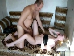 Husband and wife boredom sex