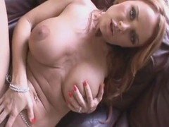 Horny Janet Mason with excellent forms got black dick