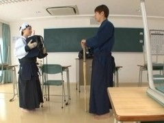 Maho Ichikawa hardcore action with a blowjob and cumshot
