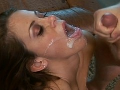 Passionate fuck ends with fascinating swallowing