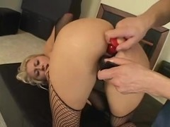 Stacy Thorn Plugged & Gaped