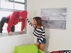 Lucky stud Robby nails Alexis Fawx and cutie Lilith Shayton