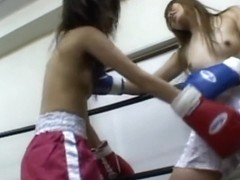 Japan Boxing Catfight 001