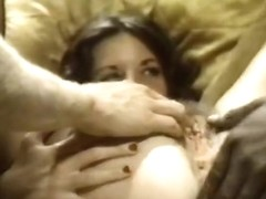 Crazy interracial retro video with Angela Haze and Charla Miss '42'