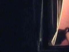 Candid babes getting their panties off in bedroom window voyeur video