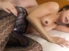 Risako Komatsu MILF banged hard with thick cum facial
