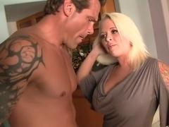 Amazing pornstar Nikki Lane in incredible big cocks, cumshots sex clip