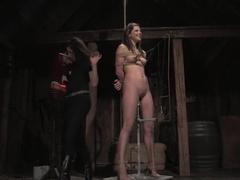Exotic brunette, fetish xxx clip with crazy pornstar Bobbi Starr from Wiredpussy