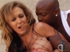 Fabulous pornstar Bethany Benz in Best Cumshots, Interracial sex movie