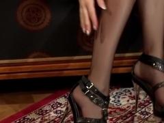 Exotic pornstar in amazing creampie, blonde porn movie