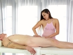 Hottest pornstars Kitty Cat, Romeo Price, Zoey Foxx in Fabulous Facial, Handjobs xxx scene