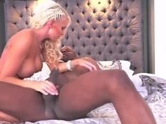 Fabulous pornstar Kenzie Taylor in Best Blonde, Interracial xxx clip
