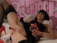 Incredible pornstar Asphyxia Noir in Horny Brunette, Solo Girl adult scene