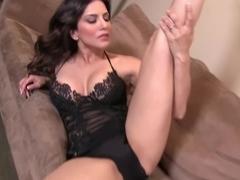 Fabulous pornstar Sunny Leone in Crazy Masturbation, Big Tits porn movie