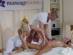 Crazy pornstars Uma, Ken Yontz, Veronica Vanoza in Exotic Threesomes, Small Tits sex video