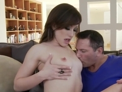 Hottest pornstar Courtney Shea in amazing small tits, facial porn scene
