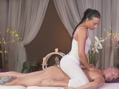 Fabulous pornstars Anna Rose, Richard in Exotic Cumshots, Massage sex video