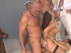 Best pornstars Chanel Preston, Wesley Pipes in Exotic DP, Gangbang adult scene