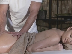 Horny pornstars George, Brittany Stone in Amazing Massage, Tattoos porn scene