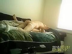 Wife open legs fucking