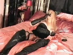 Best amateur shemale scene with Stockings, Blonde scenes