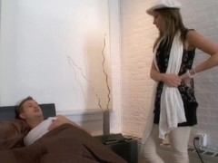 Victoria Lawson & Bill Bailey in Naughty Rich Girls
