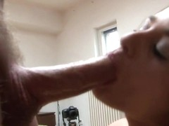Cathy Heaven shoves this hard dick down her throat