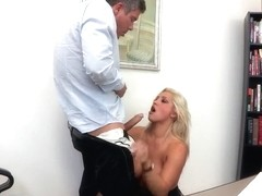 Huge boobs fucking is the main course for today