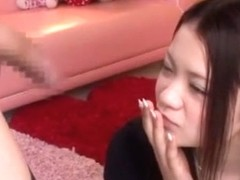 Incredible Japanese chick Kana Tsuruta in Horny Couple, Amateur JAV movie