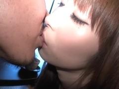 Sweet Japanese girl enjoys getting boned