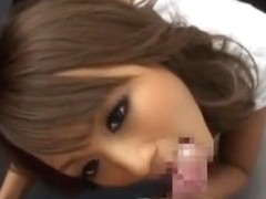 Best Japanese slut Rio Sakura in Incredible POV, Blowjob JAV movie