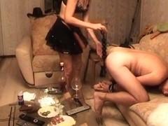 Mature fetish fuck private clip