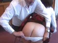 Schoolgirl flogging