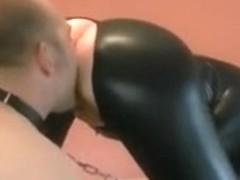 Butt licking