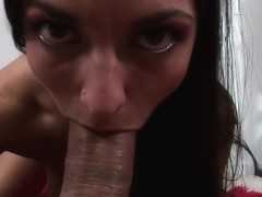 Brunettes Love To Swallow Cum
