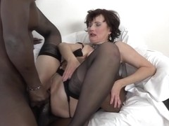 Alex Sharp DPed by Two Black Dicks in Threesome