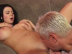 Breasty Dark Brown Loni Evans Rides A Hard Ramrod