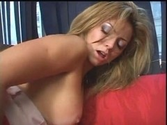 Bewitching South American babe fucking