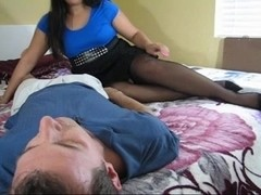 Stinky foot sniffing and tugjob