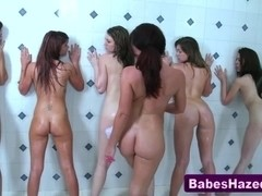 Lesbian teens eaten out and fingered