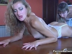LadiesKissLadies Video: Florence A and Fiona A