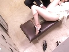 Asian school teacher fucking a japanese slut in spy video