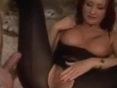 Babes getting fucked up the ass before nasty cumshots