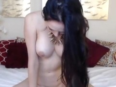 Busty Cutie Moans Loud During Orgasm