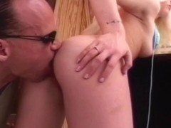 Stunning Retro Blonde Gets Anal Drilled By A Random Guy