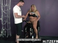 German Bbw Rides Sybian Then Fucked