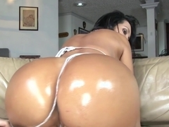 Horny pornstars Missy Martinez and Alana Evans in exotic lesbian, blonde adult video