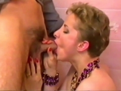 Horny mature Claire will do anything