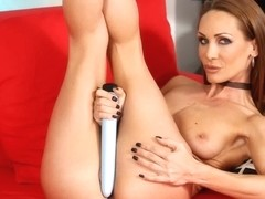 Huge Vibrator Fun For Sexy Cynthia With Cynthia Vellons
